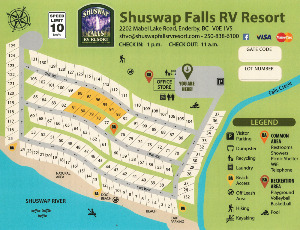 Shuswap Falls RV Resort